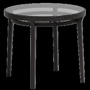 Mesa LOIPA con sobre de vidrio ajustado